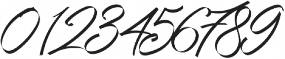 Grandhey Regular otf (400) Font OTHER CHARS