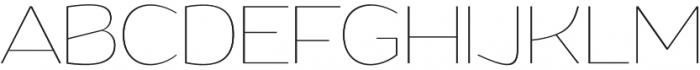Grandi otf (100) Font UPPERCASE
