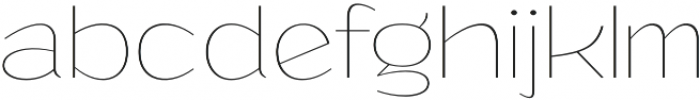 Grandi otf (100) Font LOWERCASE