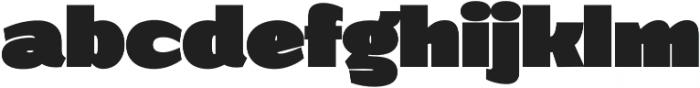 Grandi otf (900) Font LOWERCASE