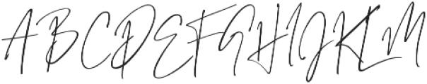 Grandiose Regular otf (400) Font UPPERCASE