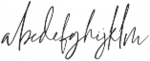 Grandiose Regular otf (400) Font LOWERCASE
