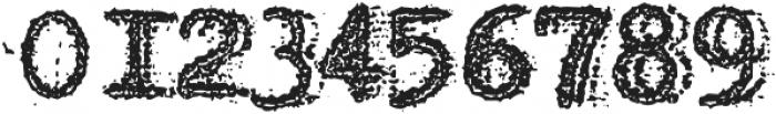 Grandpas Typewriter One Regular otf (400) Font OTHER CHARS
