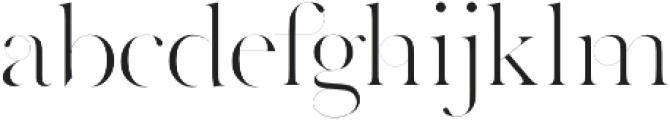 Grange Regular otf (400) Font LOWERCASE