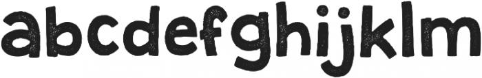 Granstander Print otf (400) Font LOWERCASE