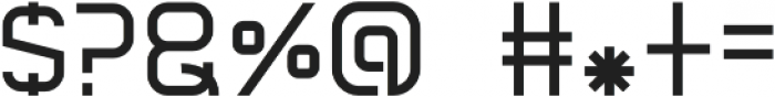 Graphicgo-Regular Regular otf (400) Font OTHER CHARS