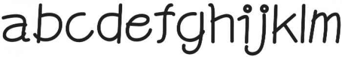 Graphicgo-Sjood2 Regular otf (400) Font LOWERCASE