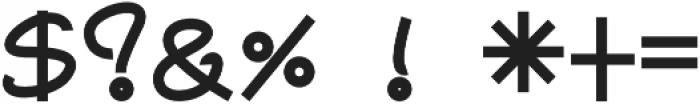 Graphicgo-Sjood3 Regular otf (400) Font OTHER CHARS