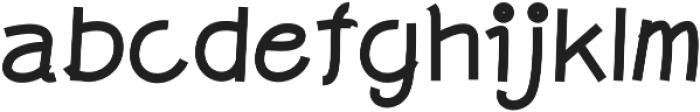 Graphicgo-Sjood3 Regular otf (400) Font LOWERCASE