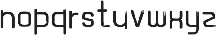 Graphicgo Wood Tail Regular otf (400) Font LOWERCASE
