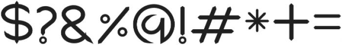 Graphicgo-kukeen Regular otf (400) Font OTHER CHARS