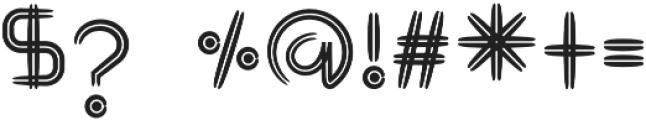 GraphicgoDoubleLine2 Regular otf (400) Font OTHER CHARS