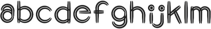 GraphicgoDoubleLine2 Regular otf (400) Font LOWERCASE