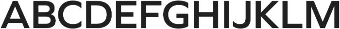 Graphie SemiBold otf (600) Font UPPERCASE