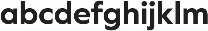 Graphie otf (700) Font LOWERCASE