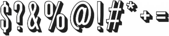 Graphique Pro Regular otf (400) Font OTHER CHARS