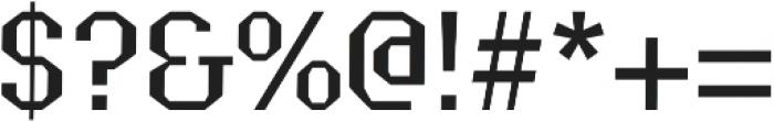 Grass regular otf (400) Font OTHER CHARS
