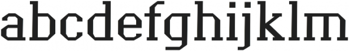 Grass regular otf (400) Font LOWERCASE