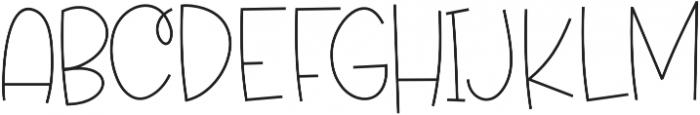 Grateful otf (400) Font UPPERCASE