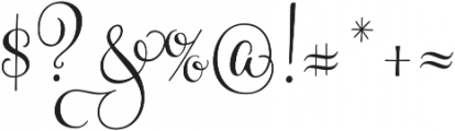 Gratitude Smooth Script Pro otf (400) Font OTHER CHARS