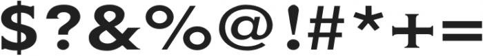 Gravis Light Extended otf (300) Font OTHER CHARS