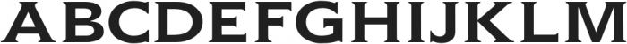 Gravis Light Extended otf (300) Font UPPERCASE