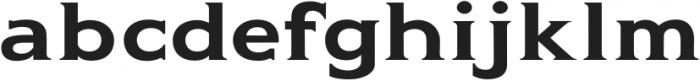 Gravis Light Extended otf (300) Font LOWERCASE