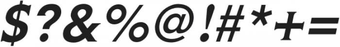 Gravis Light Italic otf (300) Font OTHER CHARS