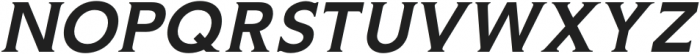 Gravis Light Italic otf (300) Font UPPERCASE