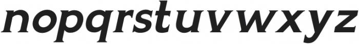 Gravis Light Italic otf (300) Font LOWERCASE