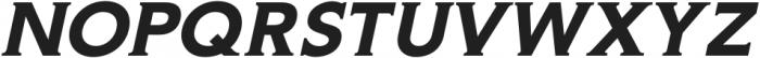 Gravis Medium Italic otf (500) Font UPPERCASE