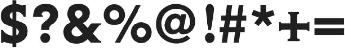 Gravis Medium otf (500) Font OTHER CHARS