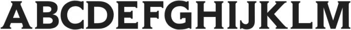 Gravis Medium otf (500) Font UPPERCASE