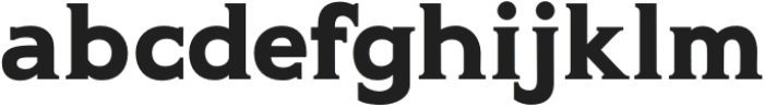 Gravis Medium otf (500) Font LOWERCASE
