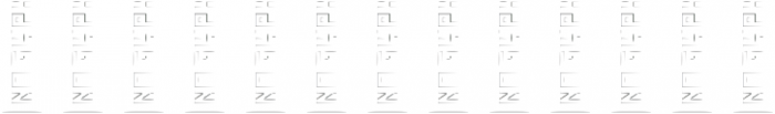 Gray ttf (400) Font LOWERCASE