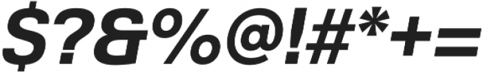 Grayfel otf (700) Font OTHER CHARS