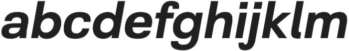 Grayfel otf (700) Font LOWERCASE