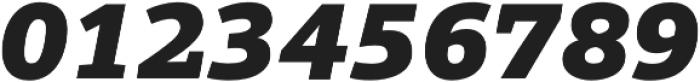 Grazie-BlackItalic otf (900) Font OTHER CHARS