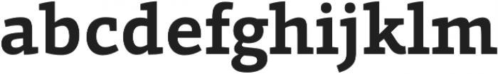 Grazie-Bold otf (700) Font LOWERCASE