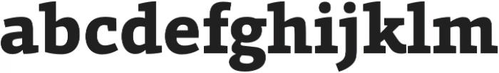 Grazie-ExtraBold otf (700) Font LOWERCASE