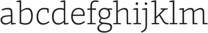 Grazie-ExtraLight otf (200) Font LOWERCASE