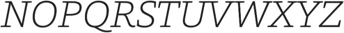 Grazie-ExtraLightItalic otf (200) Font UPPERCASE