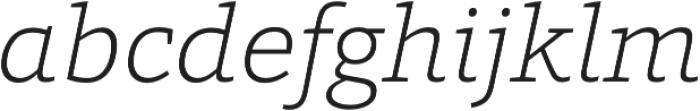 Grazie-ExtraLightItalic otf (200) Font LOWERCASE