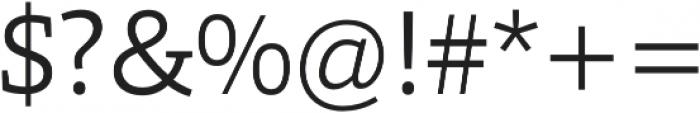 Grazie-Light otf (300) Font OTHER CHARS