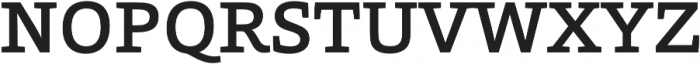 Grazie-Medium otf (500) Font UPPERCASE
