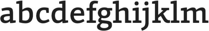 Grazie-Medium otf (500) Font LOWERCASE