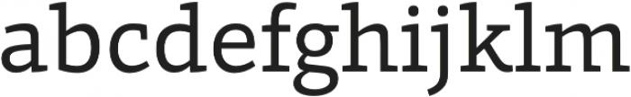 Grazie-Regular otf (400) Font LOWERCASE