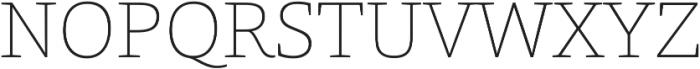 Grazie-Thin otf (100) Font UPPERCASE