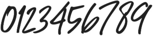 Great Authorized Slant otf (400) Font OTHER CHARS