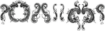 Great Circus X ttf (400) Font OTHER CHARS